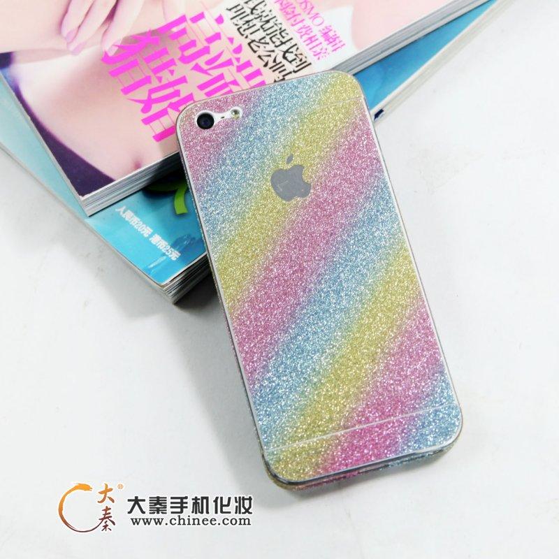 七彩钻石膜手机贴纸