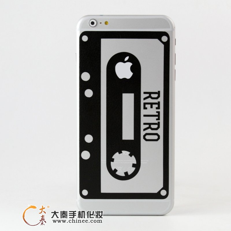 苹果iPhone6 plus创意logo手机贴纸