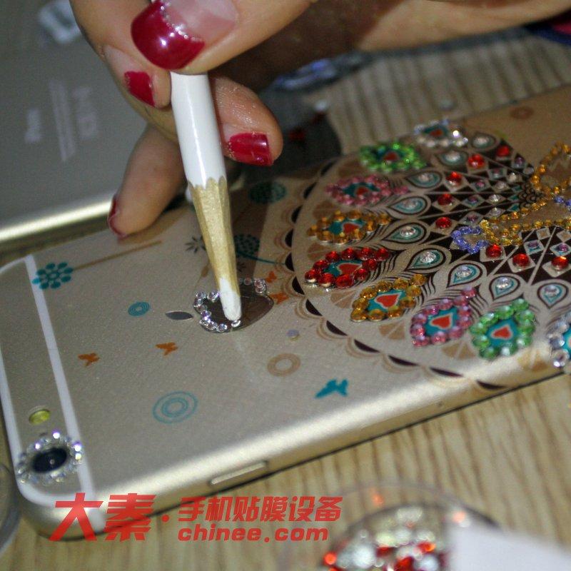 手机壳镶钻
