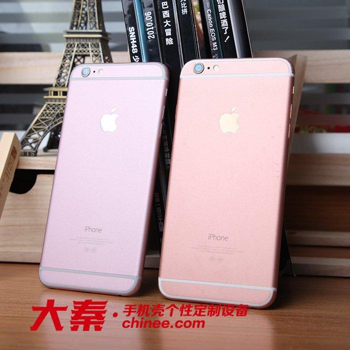指甲6s设备金玫瑰贴纸定制手机锉刀苹果图片