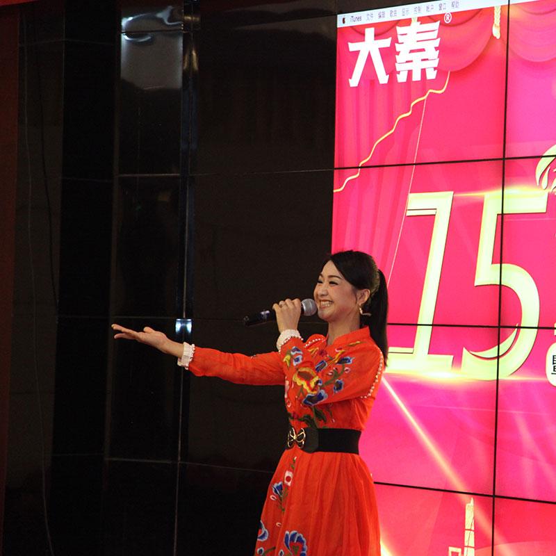 大秦手机壳定制连锁15周年庆典