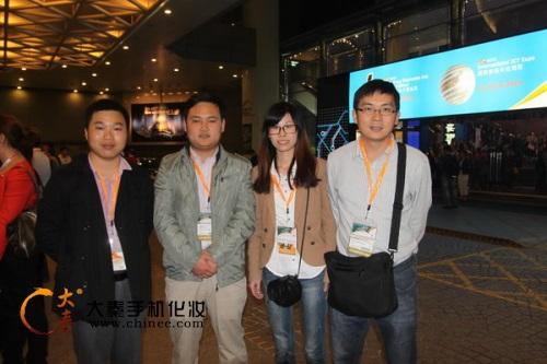 大秦手机贴膜参加香港消费电子展