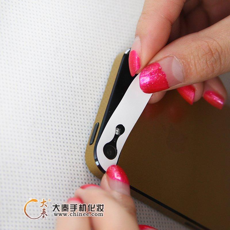 黑版iPhone5变身土豪金,大秦土豪金贴膜超给力 ...