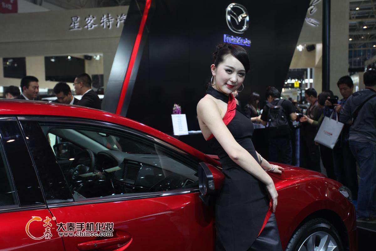 2014北京汽车展美女如云