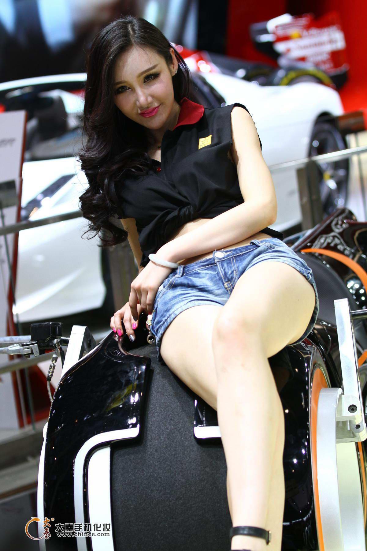 2014北京汽车展美女模特
