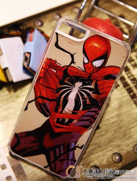 DIY蜘蛛侠手机壳